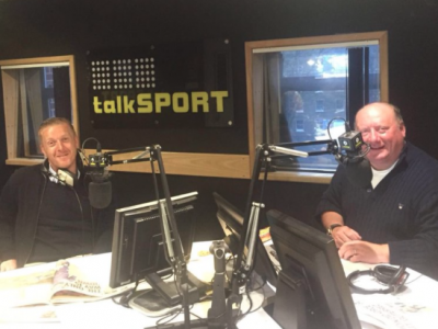 Sports Breakfast TalkSport Garry Monk Alan Brazil