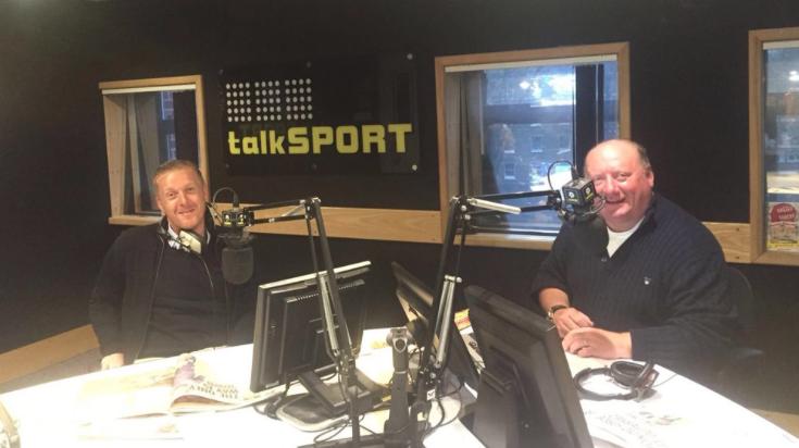 Sports Breakfast TalkSport Garry Monk Alan Brazil