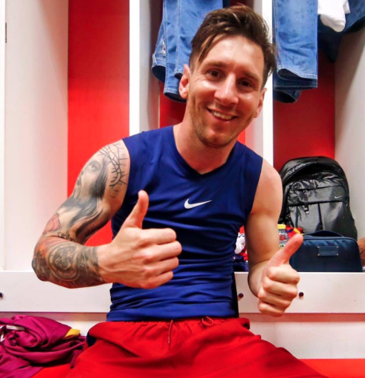 Leo Messi's message after winning his eighth La Liga title with Barcelona