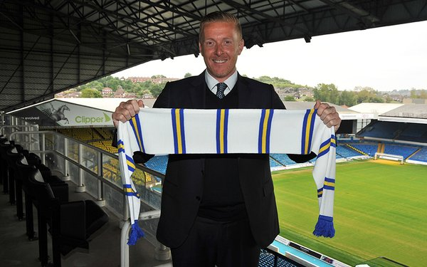 Garry Monk, new manager of the legendary Leeds United