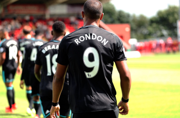 Rondón makes his bow as West Brom's number 9