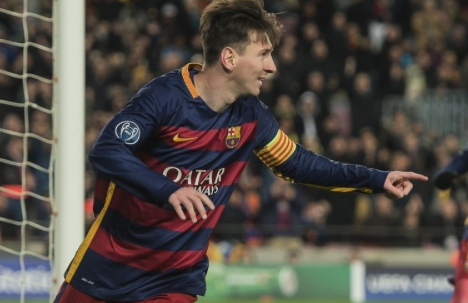 Messi Gol UEFA Award Barcelona Argentina