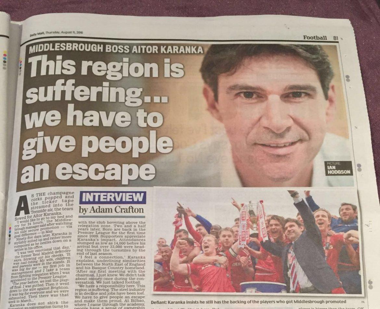 Karanka Daily Mail