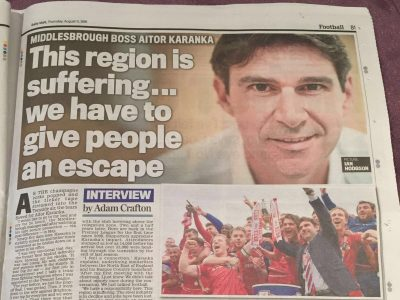 Karanka Daily Mail