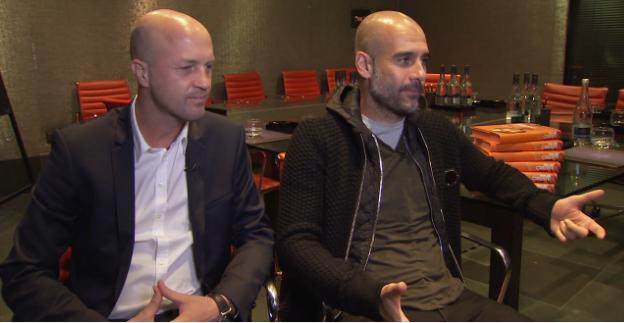 Jordi Cruyff & Pep Guardiola are moved as they recall Johan Cruyff on Sky Sports