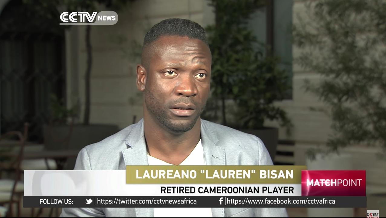 Lauren talks to CCTV about the upcoming AFCON 2017