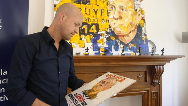 """Jordi Cruyff in Marca: """"My father was one of life's optimists"""""""
