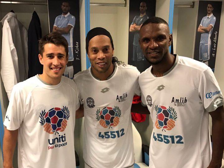 Bojan marcó el gran gol del partido por la Paz