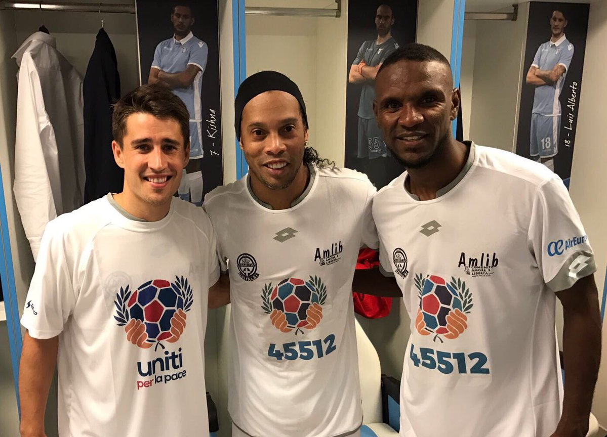 Bojan nets best goal in 'United for Peace' game