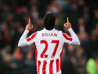 Bojan Premier League Goal Leicester Stoke