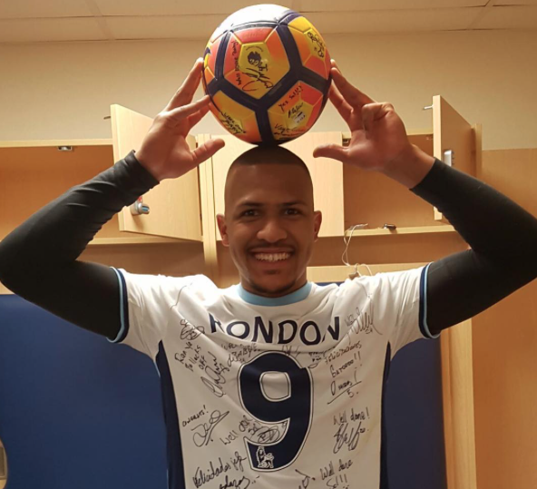 Salomon Rondon makes history with headed hat-trick