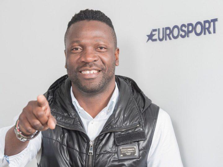 Lauren, comentarista estrella de Eurosport para la Copa África