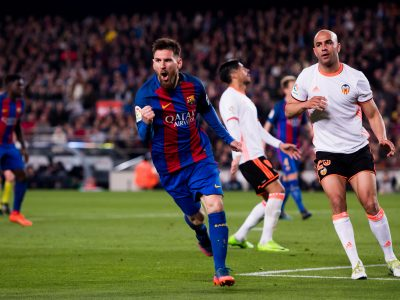 Messi - 40 goles - récord