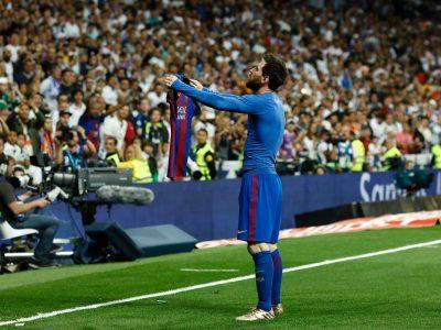 Leo Messi - 500 goals - El Clasico