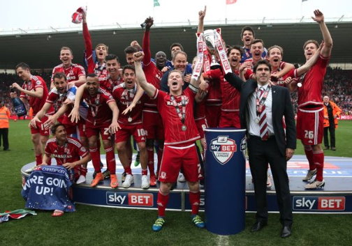 Karanka lifts lid on wonderful experience in Middlesbrough in The Mirror