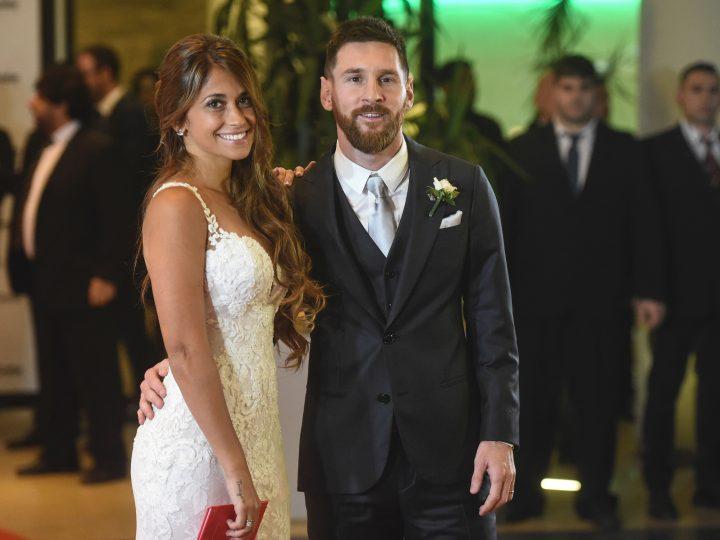 Se casaron Messi y Antonela