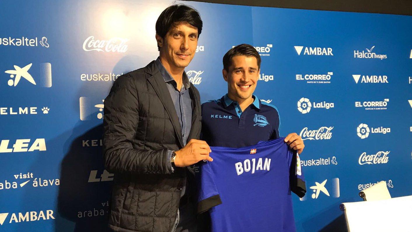 Bojan Krkic – Presentación Deportivo Alavés