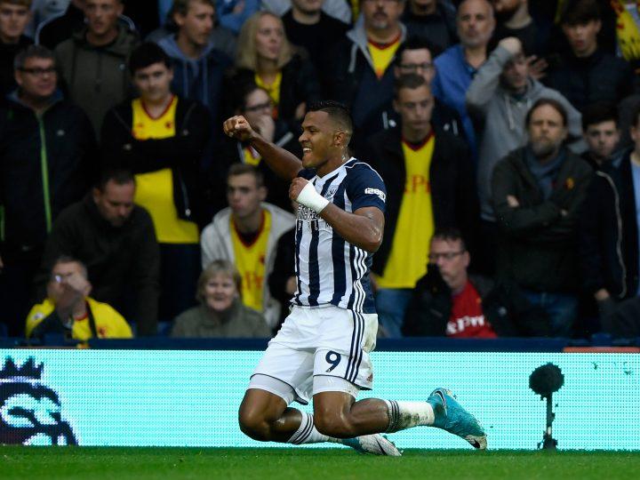Rondón abre el marcador con un gran gol en el empate del WBA contra el Watford