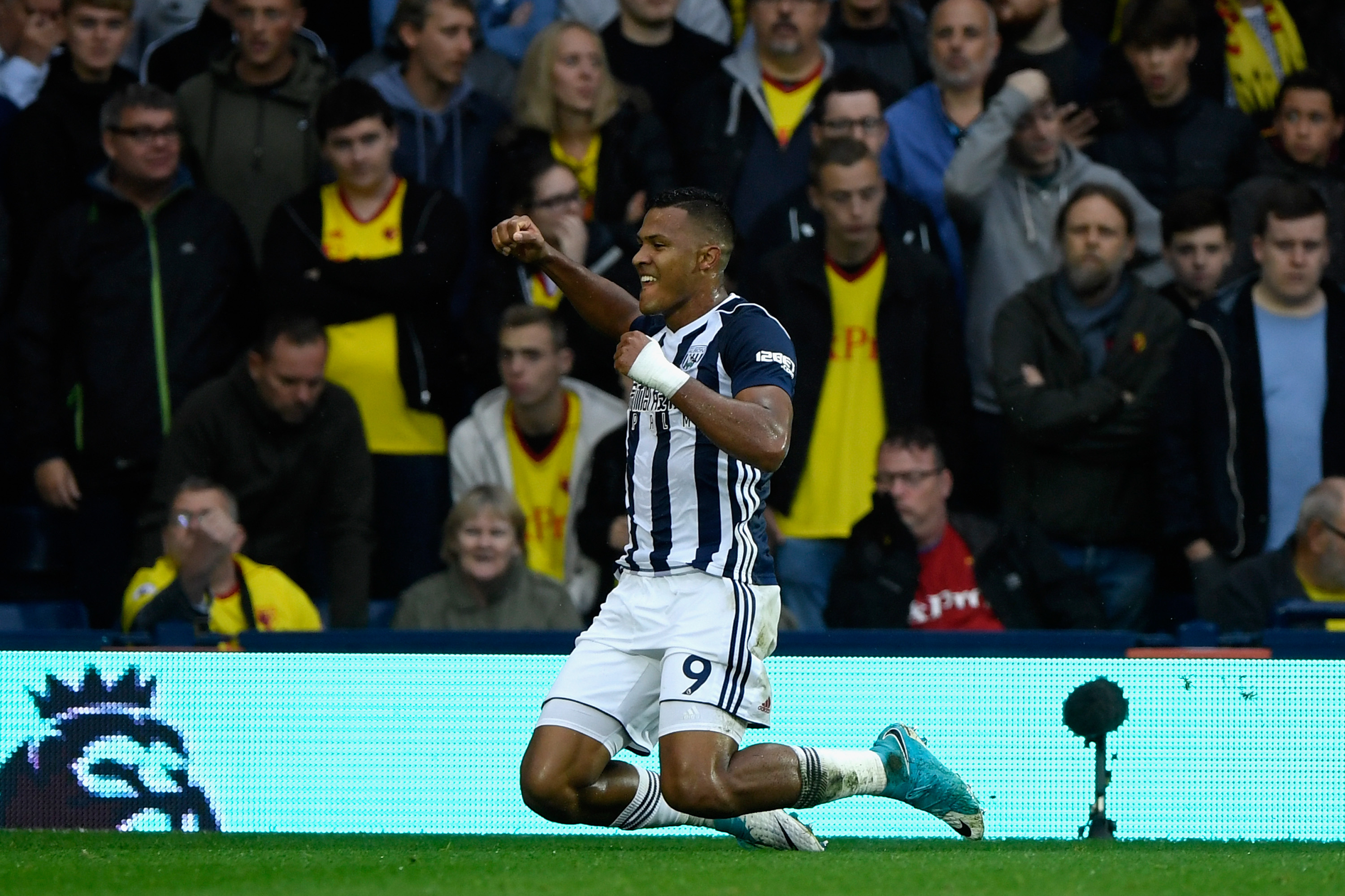 Rondon opens the scoring with a fine strike in Albion's draw against Watford