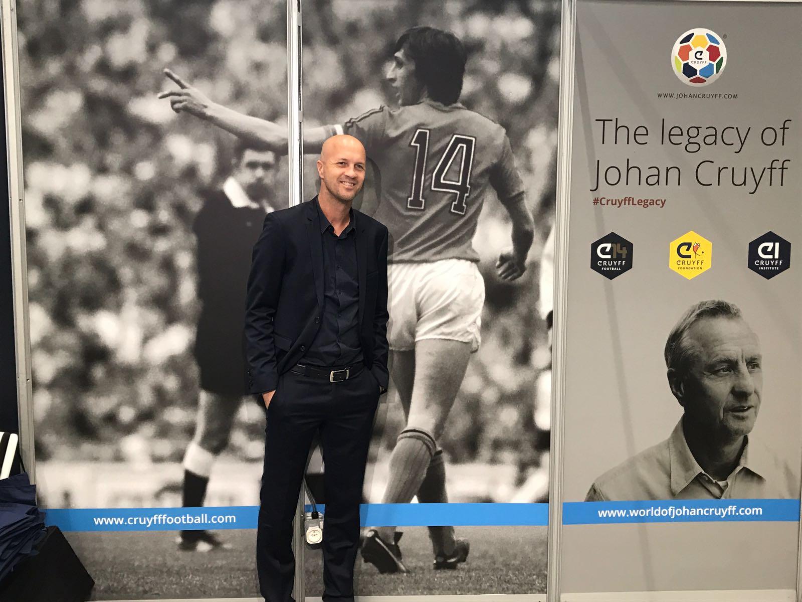 Jordi Cruyff presents father's footballing legacy at Soccerex