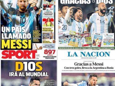 Messi, World Cup, Russia 2018, Argentina, Barcelona, Prensa