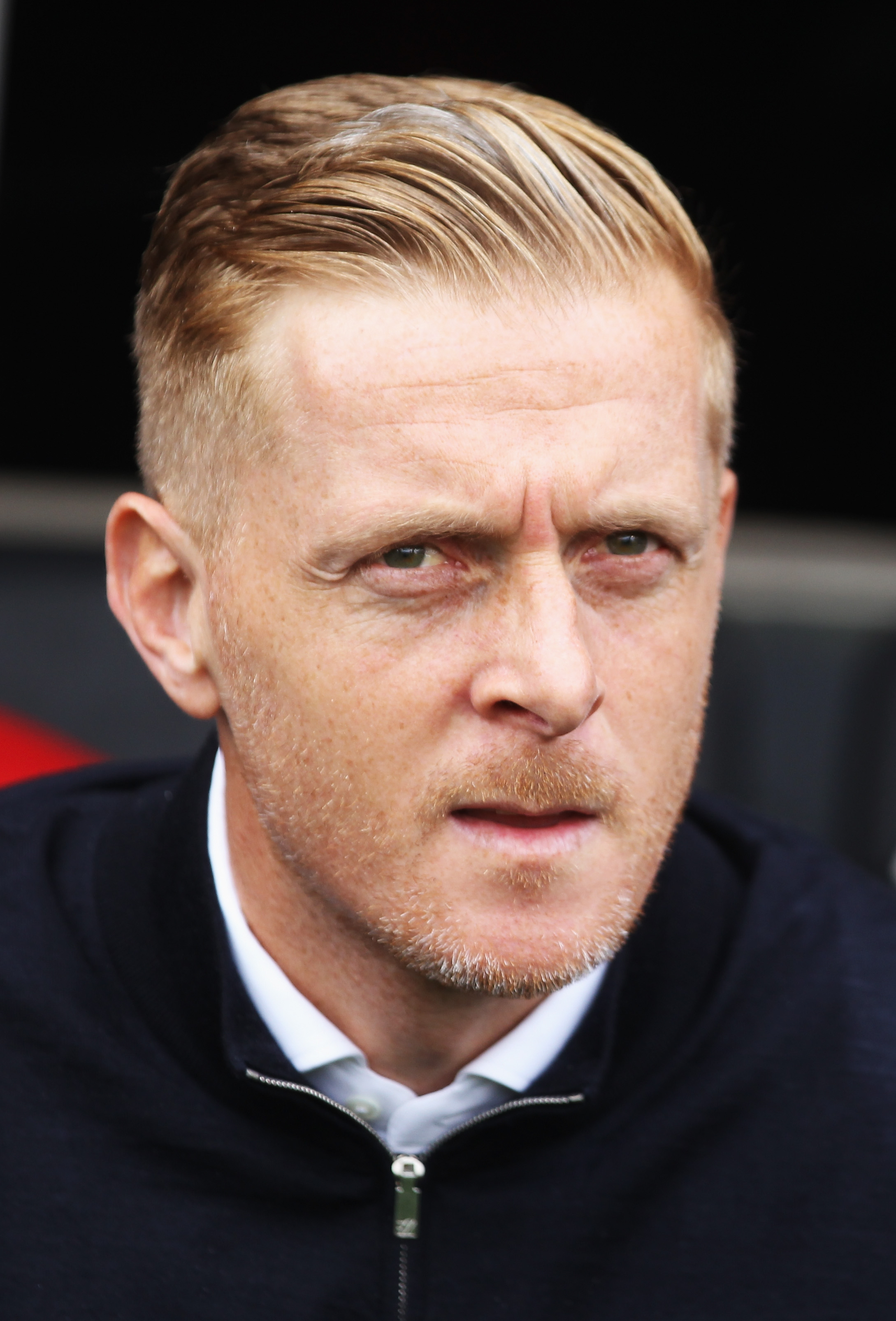 Garry Monk, dugout, Middlesbrough, Championship
