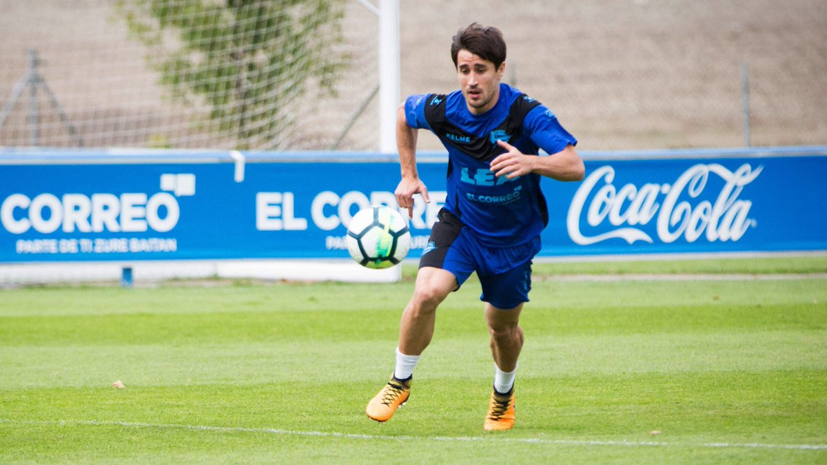 Bojan Krkic Alaves Training Stoke City