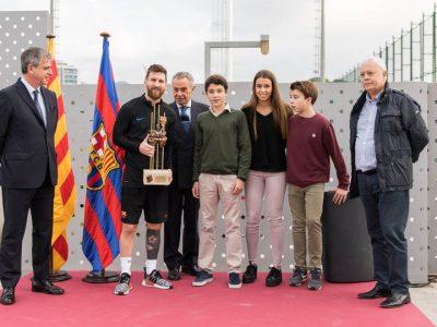 Messi, FC Barcelona, Premio Memorial Aldo Rovira 2017