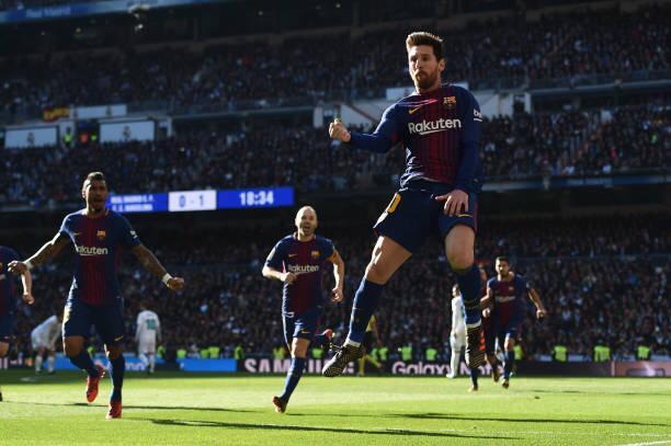 Messi Muller record Barcelona El Clasico Argentina Pulga