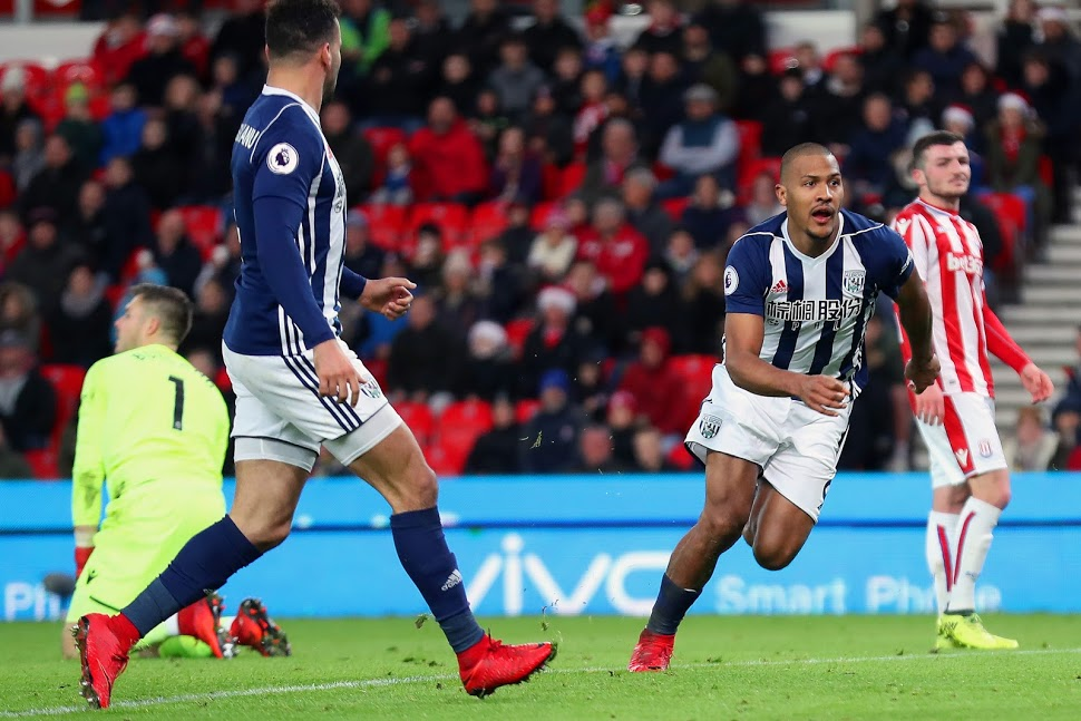 Rondon on target in 100th West Brom appearance