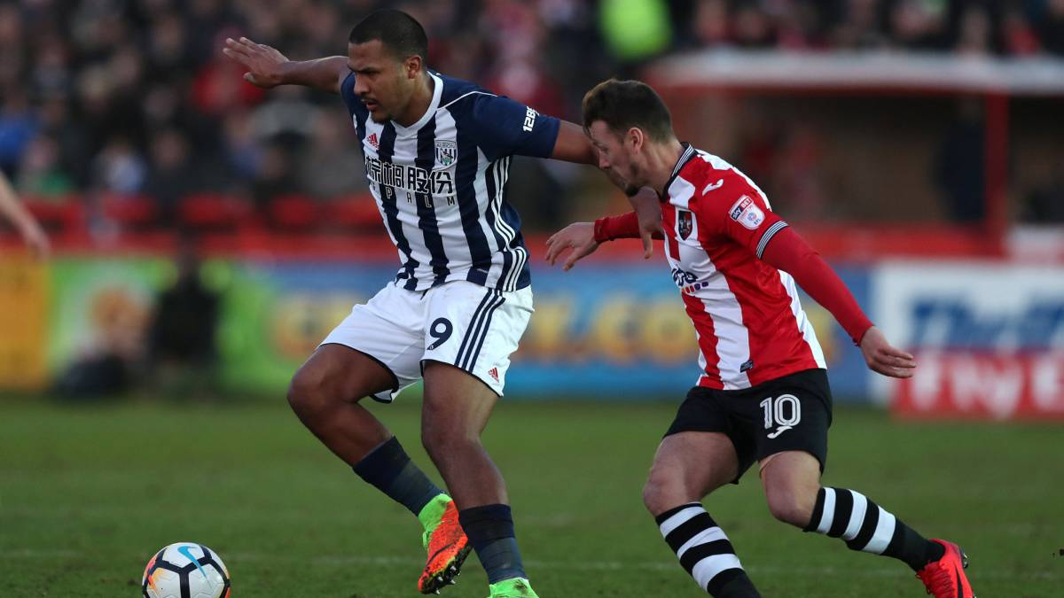 Man-of-the-Match Rondon begins 2018 with a goal as Albion claim FA Cup success