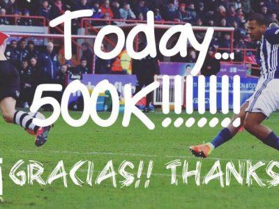 Rondon 500K followers Gladiator Instagram WBA Venezuela