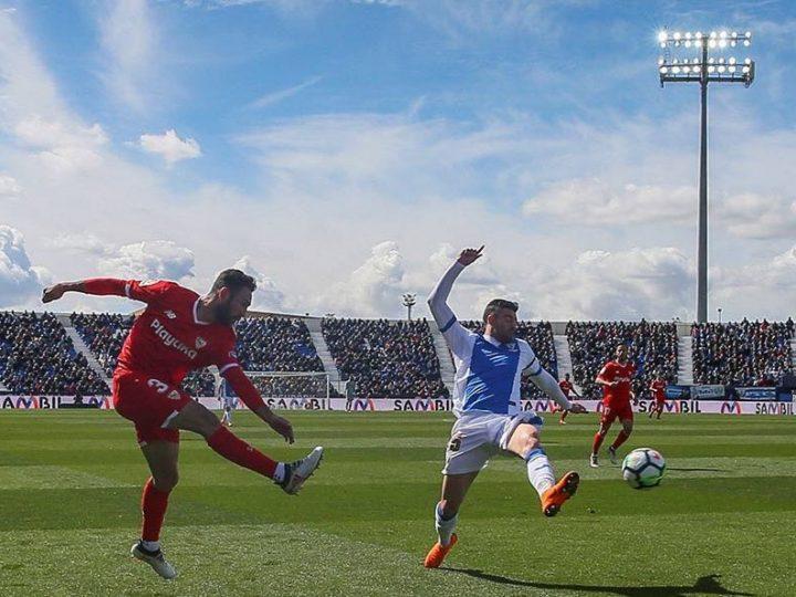 Miguel Layún marca su primer gol como sevillista