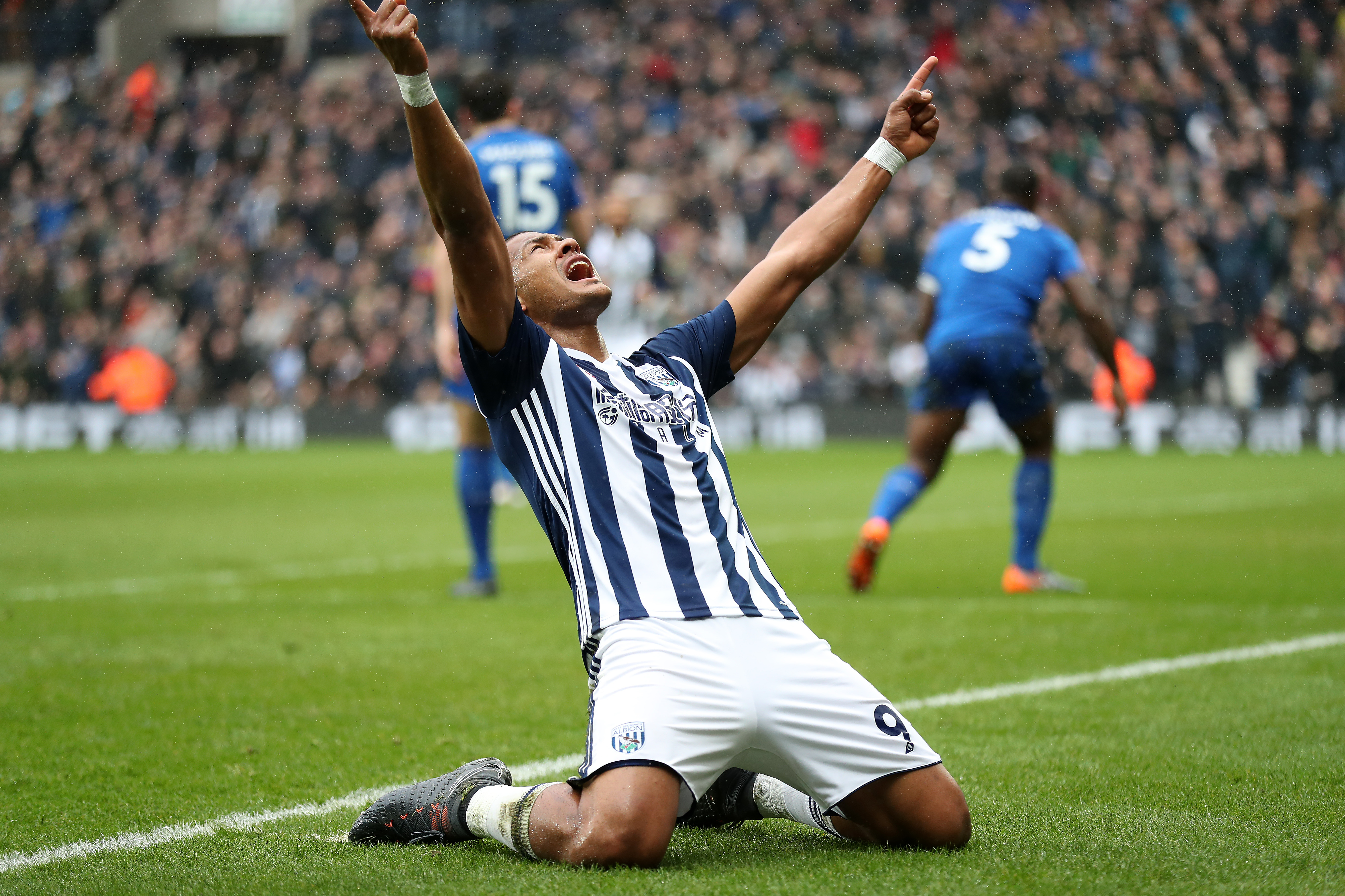 Rondon on target in 100th Premier League appearance