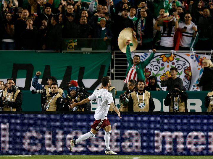 Miguel Layún anota doblete en la victoria de México frente a Islandia