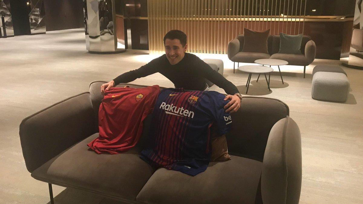 Bojan Krkic offers his analysis of Barça v Roma in MARCA