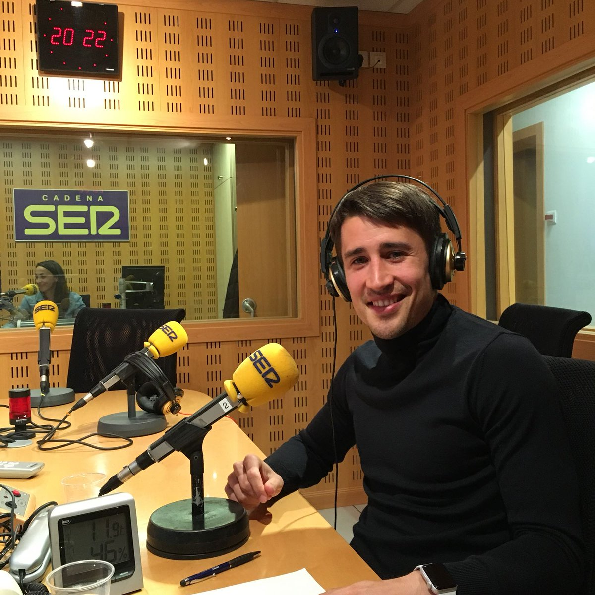 Bojan Krkic in guest commentator appearance for Barça v Roma clash on Carrusel Deportivo