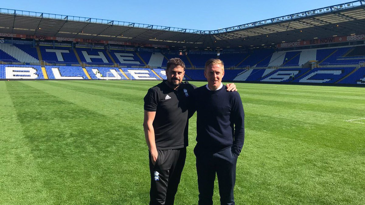 Garry Monk Pep Clotet Birmingham City Blues Championship