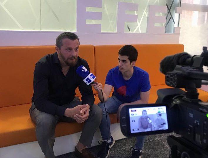 Slavisa Jokanovic repasa la actualidad del Fulham y del Mundial para la Agencia EFE