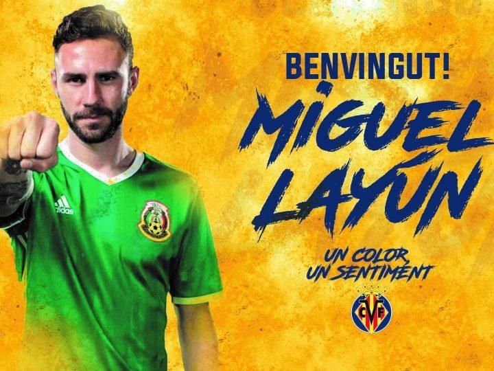 Miguel Layún, nuevo jugador del Villarreal