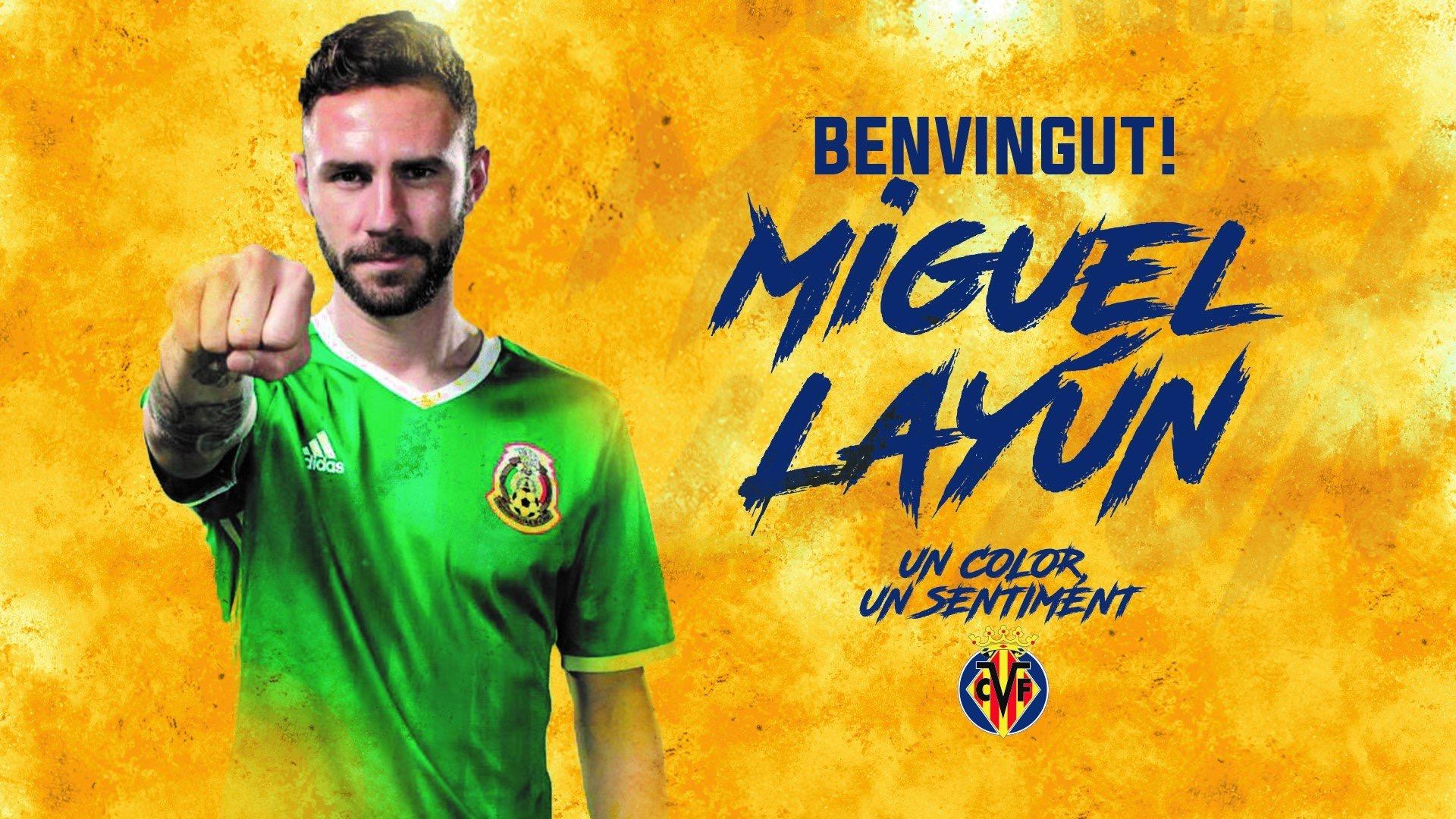 Miguel Layún rules Villarreal