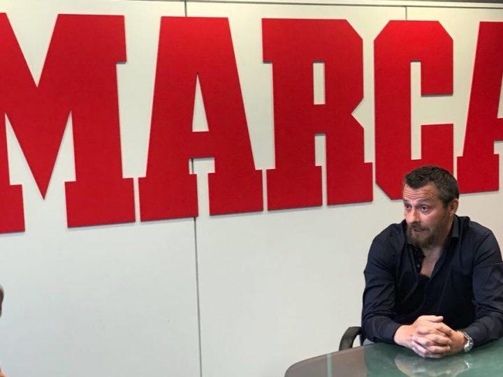 """Jokanovic visita MARCA a pocas semanas del inicio de la Premier League: """"No vamos a pegar pelotazos ni a poner el autobús"""""""
