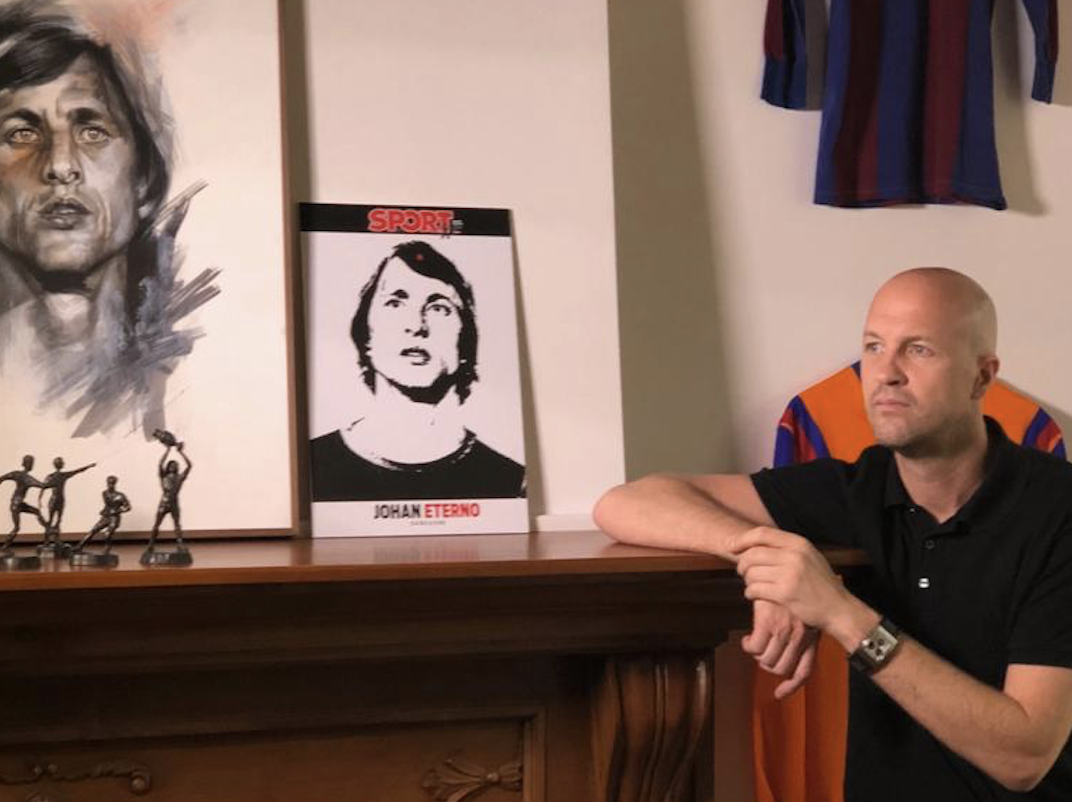 "Jordi Cruyff talks to SPORT: ""Having been in various roles has allowed me to prepare myself if my dream job comes up one day"""