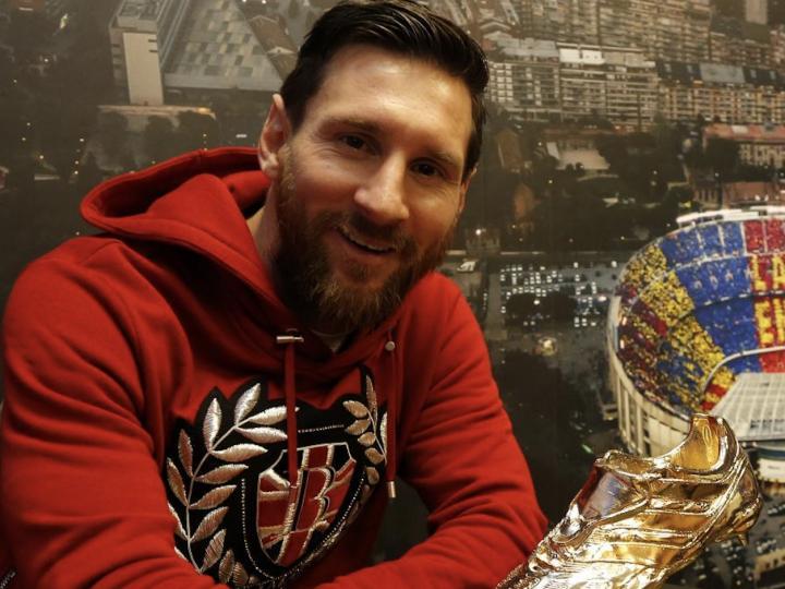 """Leo Messi, en ESM y Marca tras recibir su quinta Bota de Oro: """"Amo el fútbol, pero la familia está por encima de todo"""""""