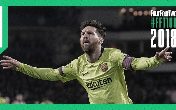 Leo Messi es el mejor jugador del mundo en 2018 para la revista FourFourTwo