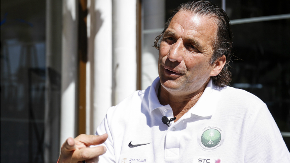 """Juan Antonio Pizzi chats to MARCA: """"The Saudi players benefited from their time in Spain"""""""