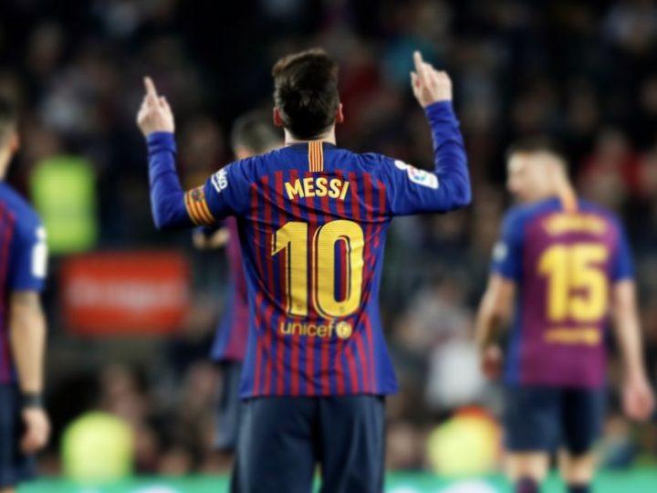 Leo Messi alcanza los 400 goles en la Liga con el Barcelona