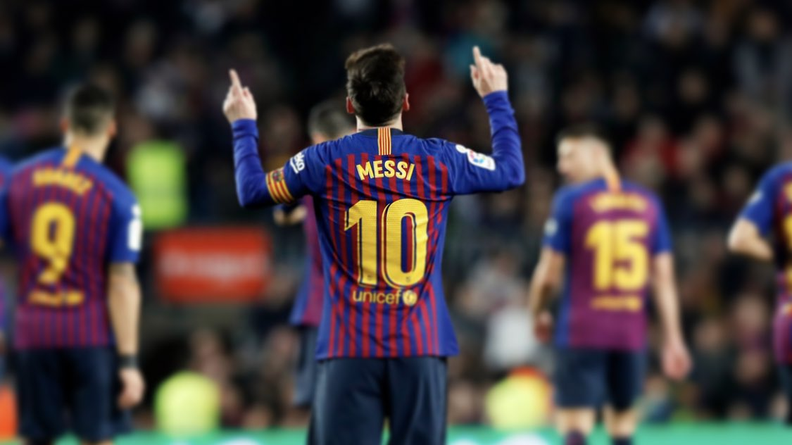 Messi notches 400th La Liga goal for Barcelona