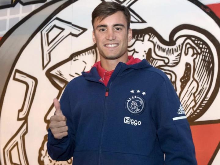 Nico Tagliafico, elegido Jugador del Partido tras su actuación con el Ajax ante el NAC Breda