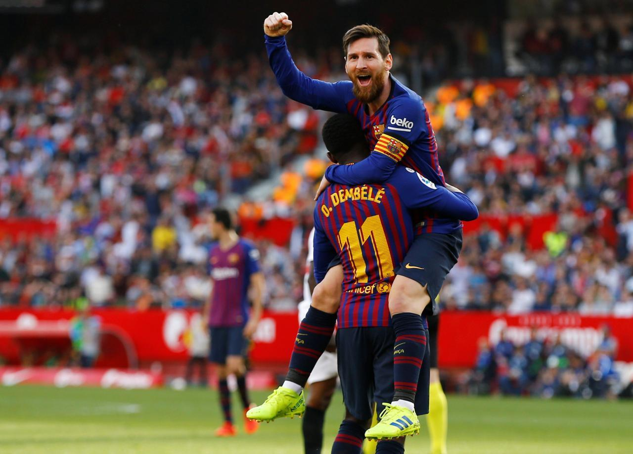 Sevilla clash sees Messi claim 50th career hat-trick